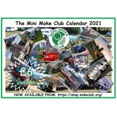 2021 Moke Club Calendar